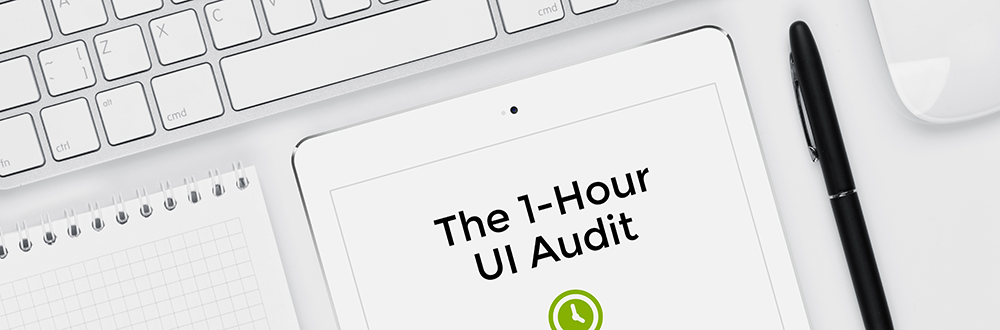 The 1-Hour UI Audit