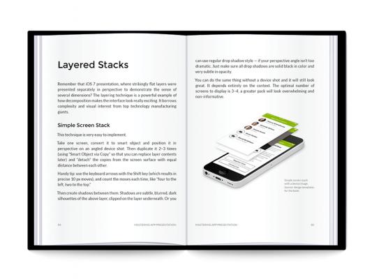 Mastering App Presentation: Open Book